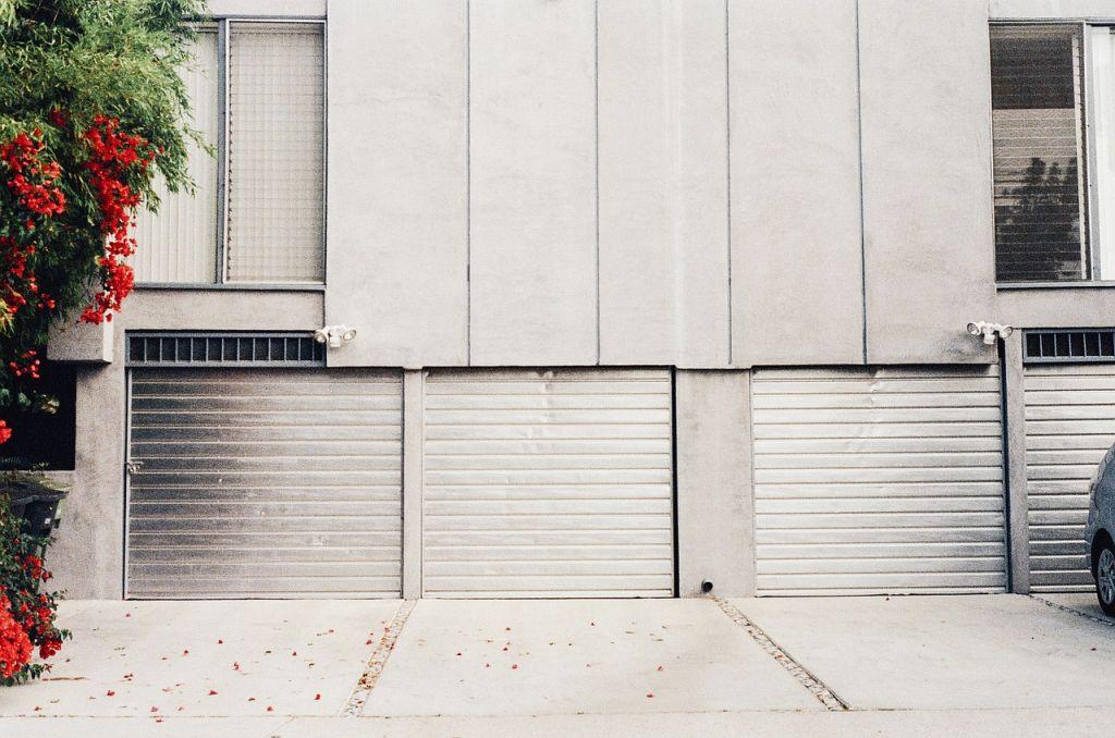porte de garage métal
